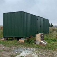 The Leven Programme supports storage and shelter unit for the Bats Wood Project